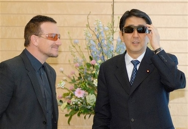 Abe and Bono