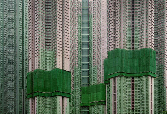 "From Michael Wolf's Hong Kong ""Architecture of Density"" series"